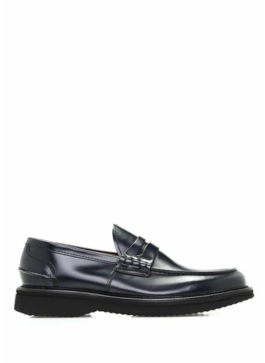Green George %100 Deri Klasik Ayakkabı Lacivert